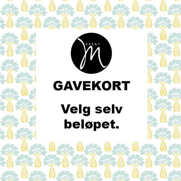 Bilde av  Agent M Gavekort - velg beløpet selv