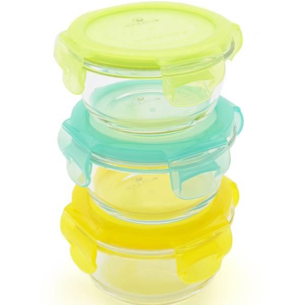 Bilde av Kooleco glassbeholdere Bowls 3pk 210 ml