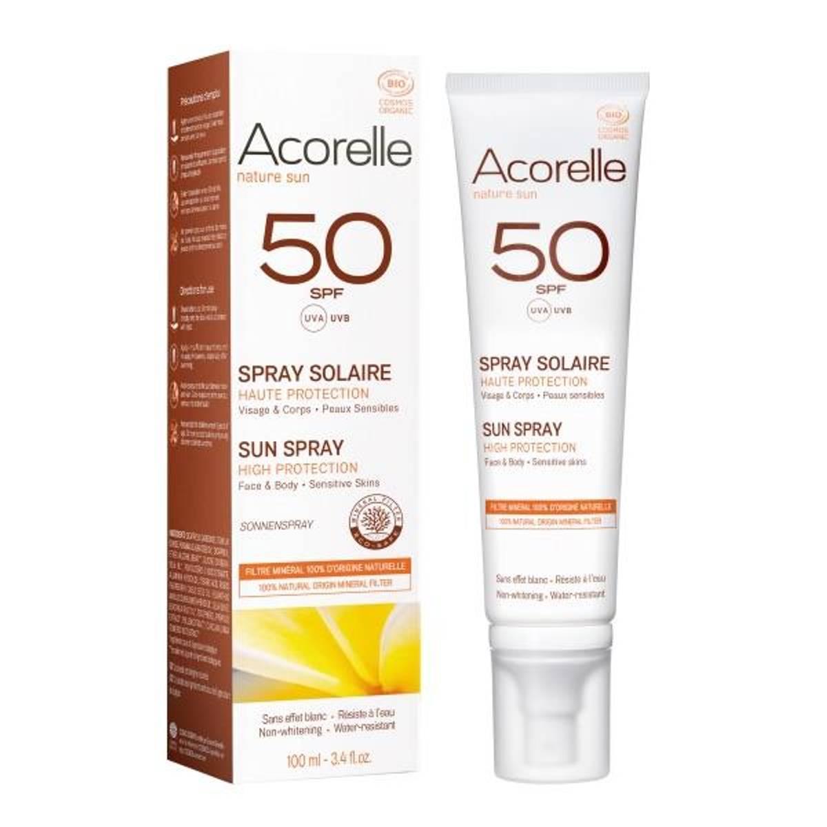 Acorelle Sun Spray SPF 50 - 100ml