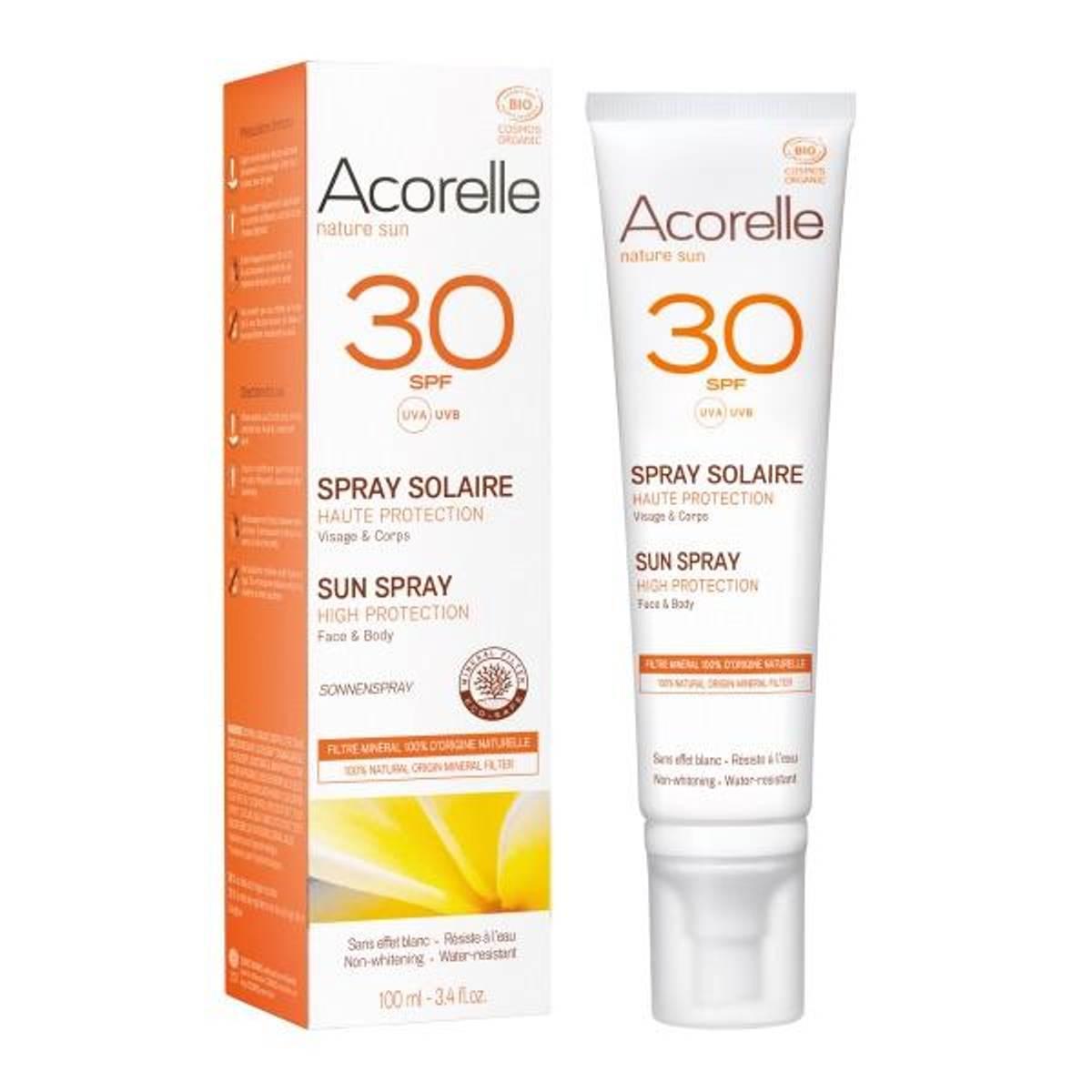 Acorelle Sun Spray SPF 30 - 100ml