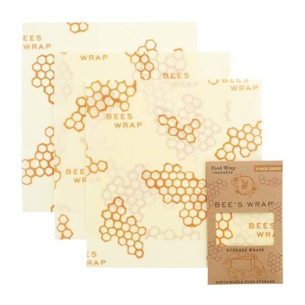Bilde av Bees Wrap - Cheese Wrap 3 ark Medium