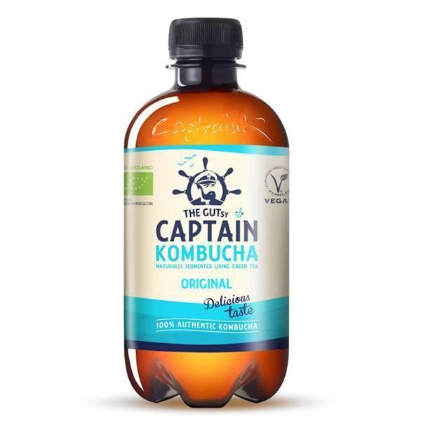 Bilde av Captain Kombucha Original 400 ml
