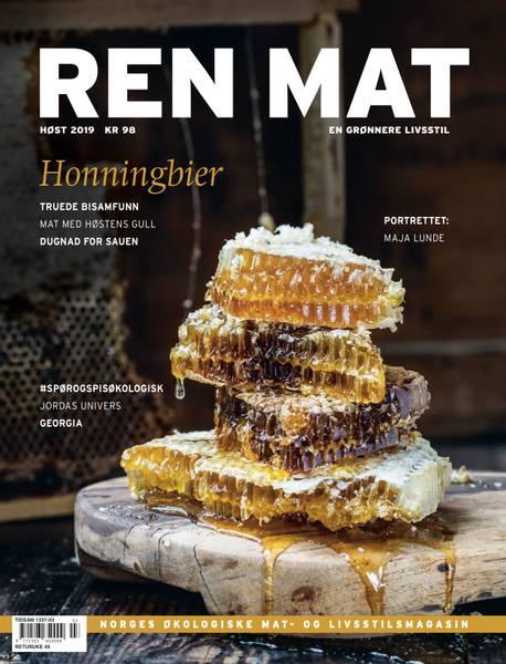 Bilde av Ren Mat magasinet 2019 Høst Honningbier
