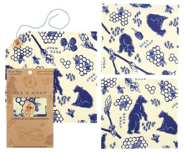 Bilde av Bees Wrap - Lunch Pack Bears & Bees