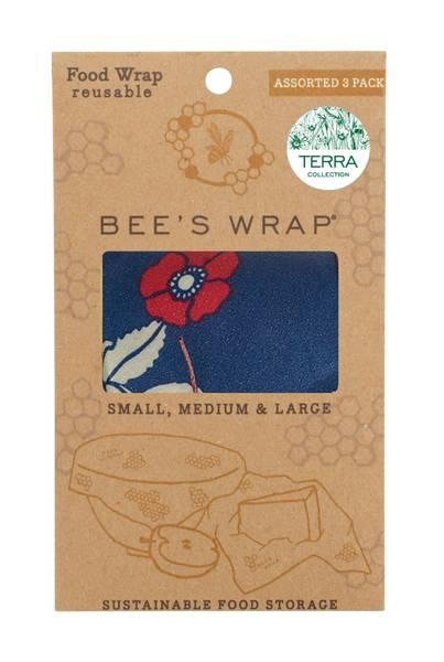 Bilde av Bees Wrap - Assorted 3 pack Botanical & Birds