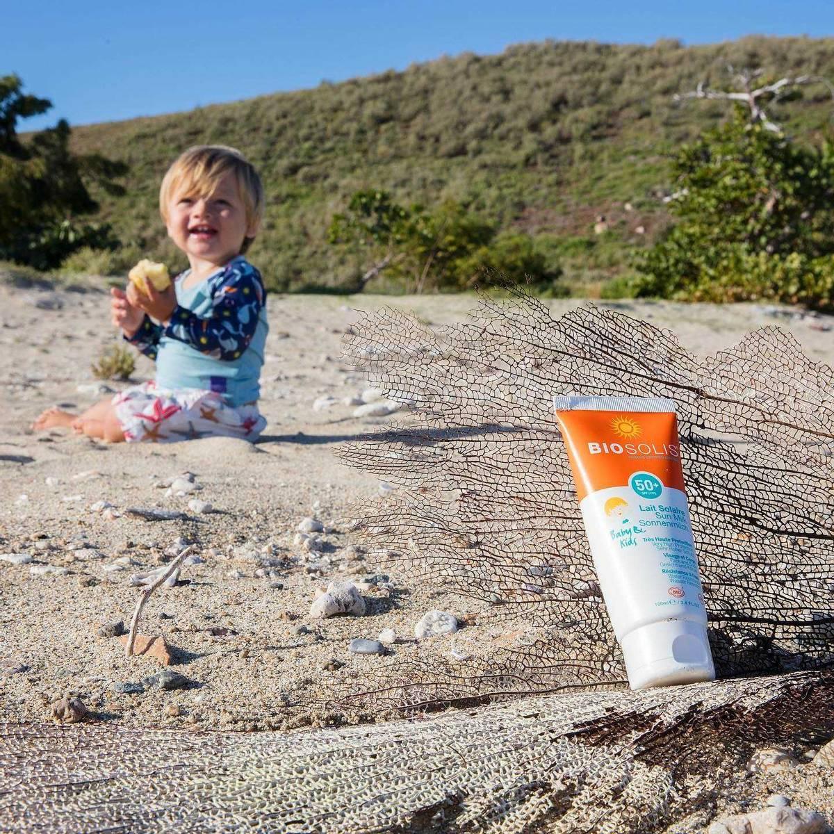 BIOSOLIS Sun Milk BABY & KIDS SPF 50+ 100 ml
