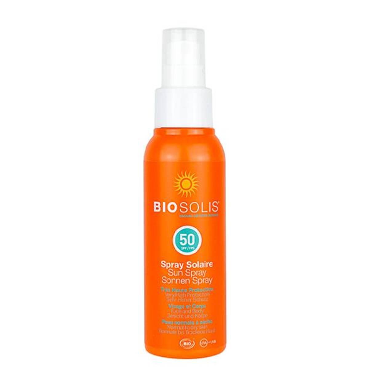 BIOSOLIS Sun Spray SPF 50 100 ml