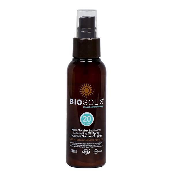Bilde av BIOSOLIS Sun Oil Spray SPF 20