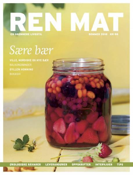 Bilde av Ren Mat magasinet 2018 Sommer Sære Bær