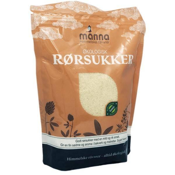 Bilde av Manna Rørsukker, gyldent 800 gram