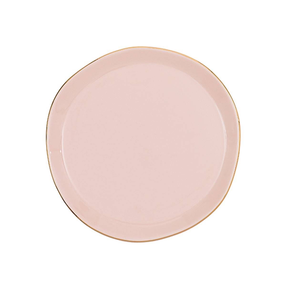 UNC Good Morning Plate Old Pink 17 cm