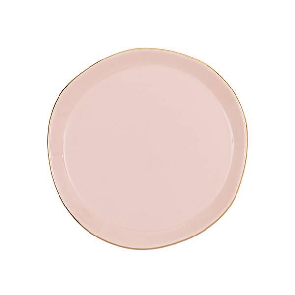 Bilde av UNC Good Morning Plate Old Pink 17 cm