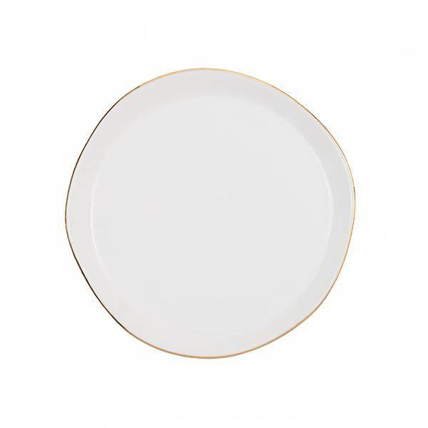 Bilde av UNC Good Morning Plate White 17 cm