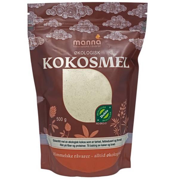 Bilde av Manna Kokosmel 500 gram fettredusert