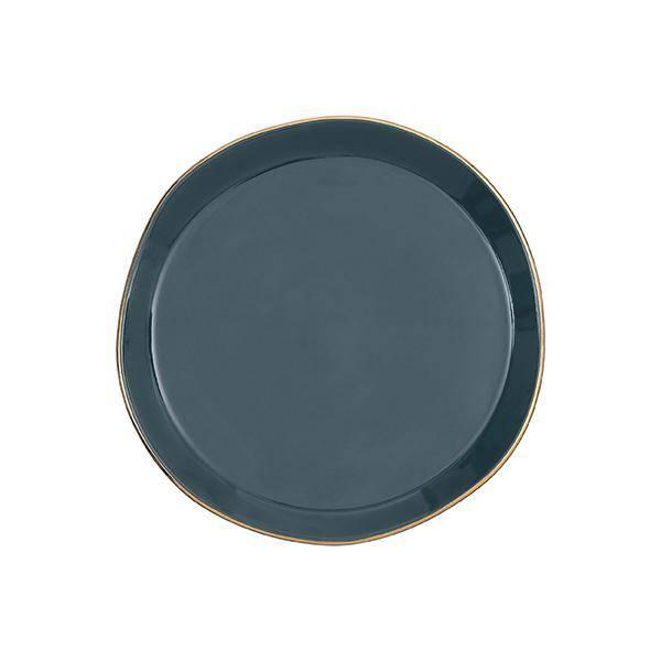 Bilde av UNC Good Morning Plate Blue Green 17 cm