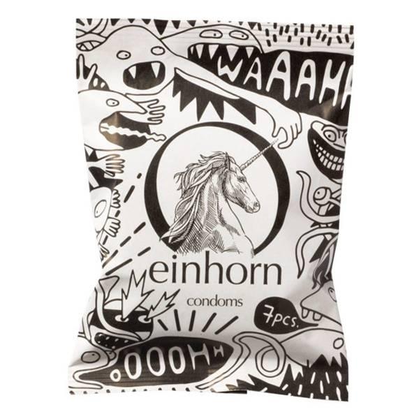 Bilde av Einhorn 7-pk veganske kondomer Spermamonster