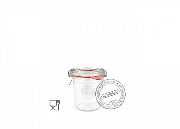 Bilde av Weck Klassisk (mini) 140 ml m/lokk og 2 klemmer