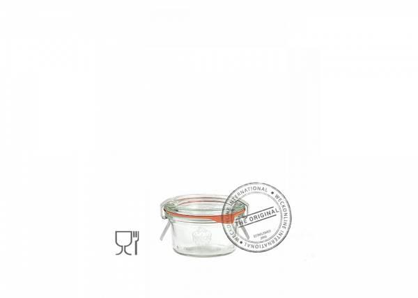 Bilde av Weck Klassisk (mini) 50 ml m/lokk og 2 klemmer