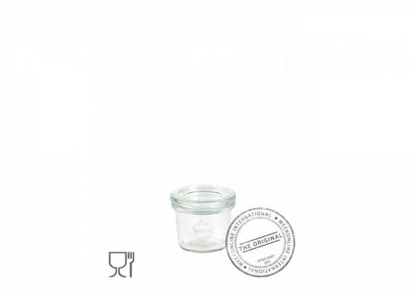 Bilde av Weck Klassisk (mini) 35 ml m/lokk og 2 klemmer