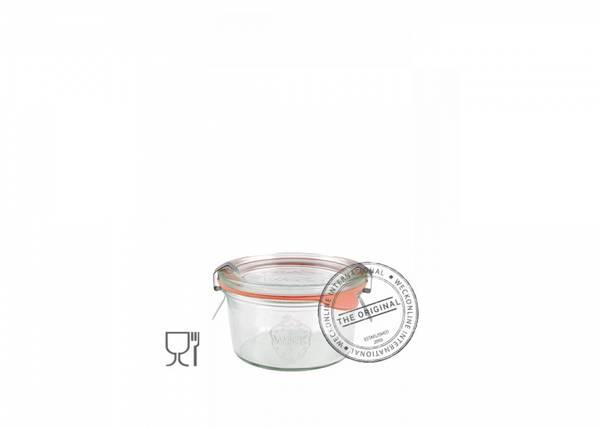 Bilde av Weck Klassisk (mini) 165 ml m/lokk og 2 klemmer
