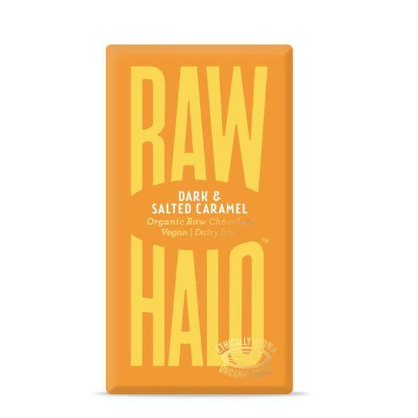 Bilde av Raw Halo Dark & Salted Caramel 35g