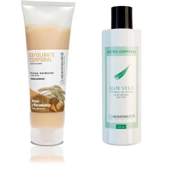 Macadamia scrub & Aloe Vera body lotion