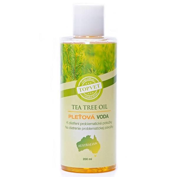 Tea Tree Oil Face Lotion - toner/ansiktsvann for fet og uren hud