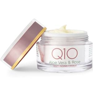 Bilde av Q10 Aloe Vera & Rose - anti-age dagkrem for tørr og sensitiv hud