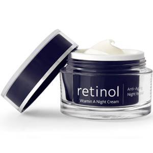 Bilde av Retinol Vitamin A Night Cream - nattkrem mot linjer og rynker