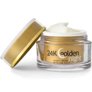 Bilde av 24K Golden Night - nattkrem mot linjer og rynker