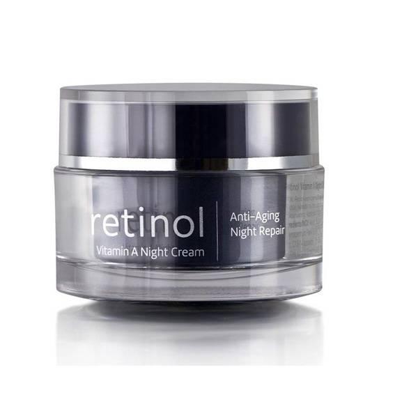 Retinol Vitamin A Night Cream - nattkrem mot linjer og rynker