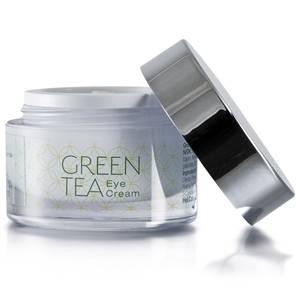 Bilde av Green Tea Eye Cream - avkjølende øyekrem mot poser og linjer