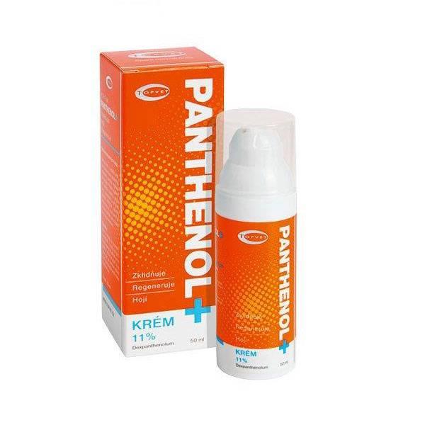 Panthenol krem - Førstehjelp mot solbrent hud