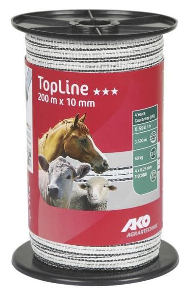 Bilde av Gjerdeband Ako TopLine 200 m - 10 mm