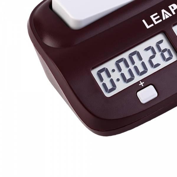 Leap, digital sjakk klokke, turnering 10 timer
