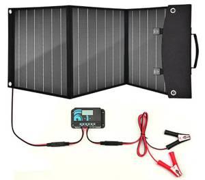 Bilde av Solcellepanel sammenleggbart 12v 50w