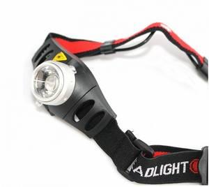 Bilde av Hodelykt Cree Q5 LED lyser 250meter