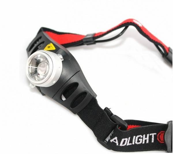 Hodelykt Cree Q5 LED lyser 250meter
