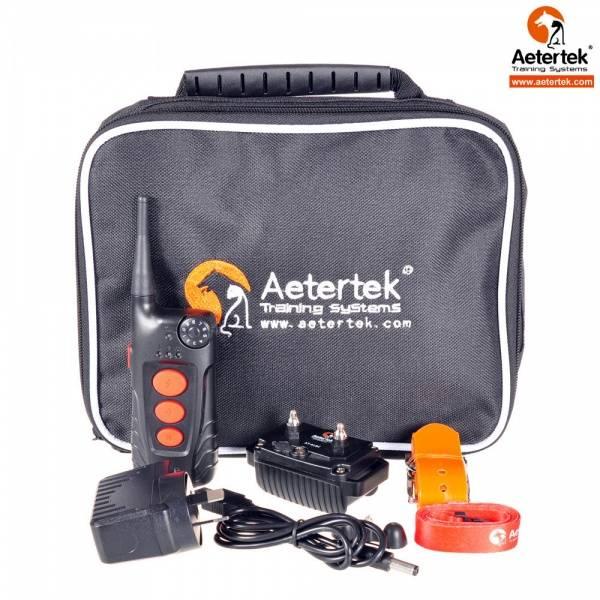 Aetertek AT-918c dressurhalsbånd auto/manuell, vanntett