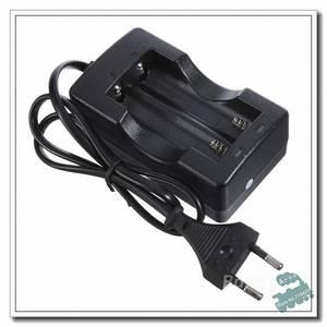 Bilde av Batterilader for 2 stk 18650 batterier