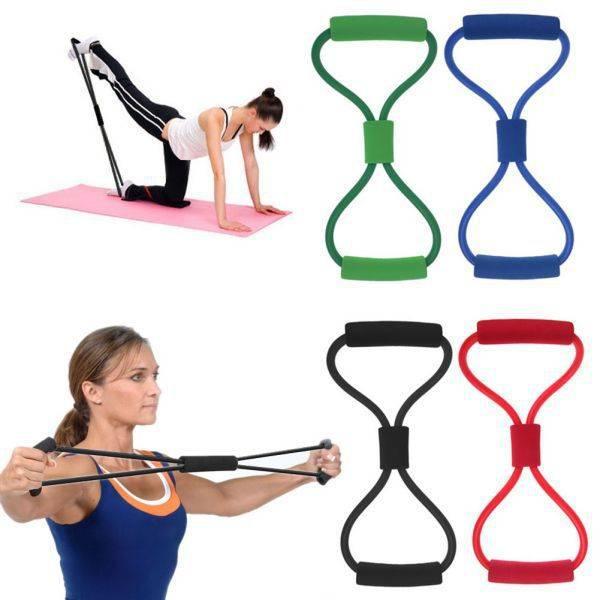Treningsstrikk for styrketrening, yoga, pilates mm