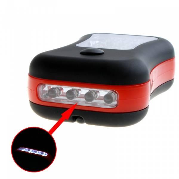 LED lommelykt m/krok, magnet flere funksjoner