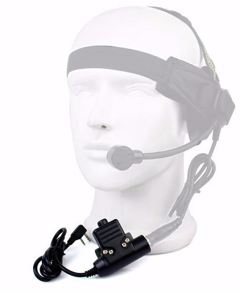 BaoFeng u94 ptt militær radio headset adapter