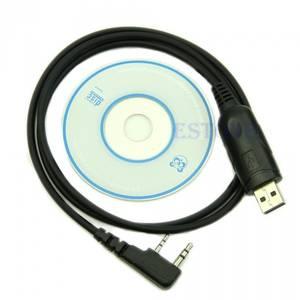Bilde av BaoFeng UV-5R USB datakabel og programvare