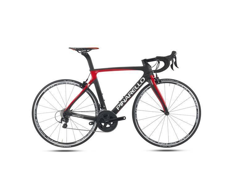 Pinarello GAN S T700 2016 sort/rød glans