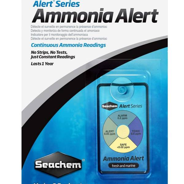 Bilde av Seachem Ammonia Alert 1 år