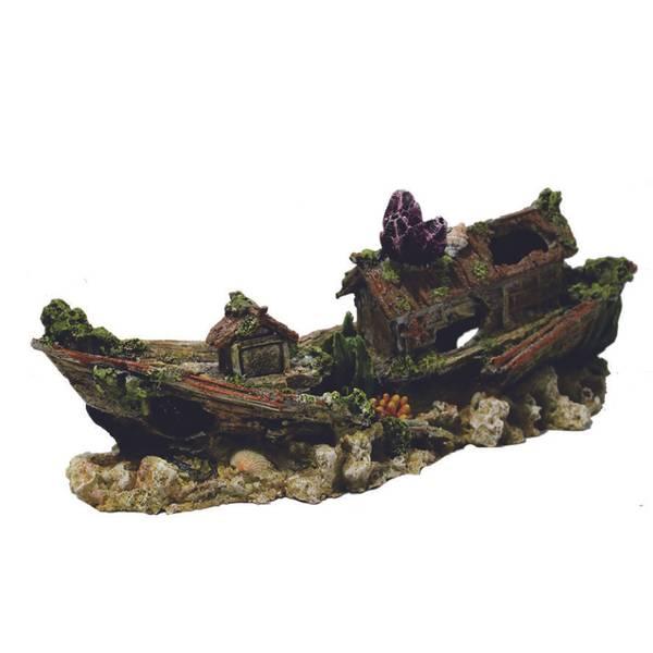 Bilde av Hugo House Boat 33X11x13cm