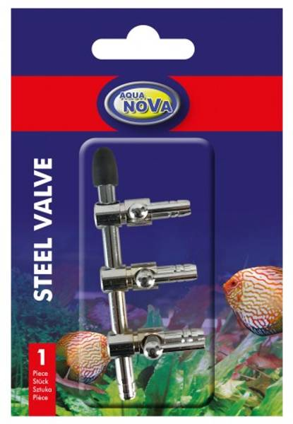 Bilde av Steel valve 3 output (3 way )