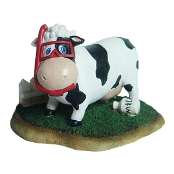 Bilde av Hugo Mandy The Cow 10.5X8.9X8cm