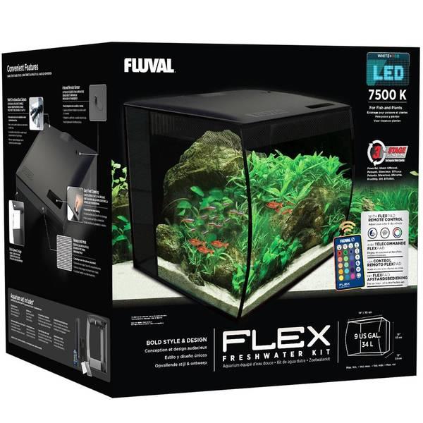 Bilde av Fluval Flex 34 liter - Sort